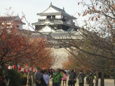 日本100名城の『松山城』で城めぐり観光!!