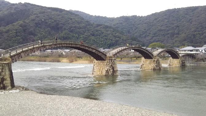 山口県岩国市で『岩国城』と『錦帯橋』観光!!