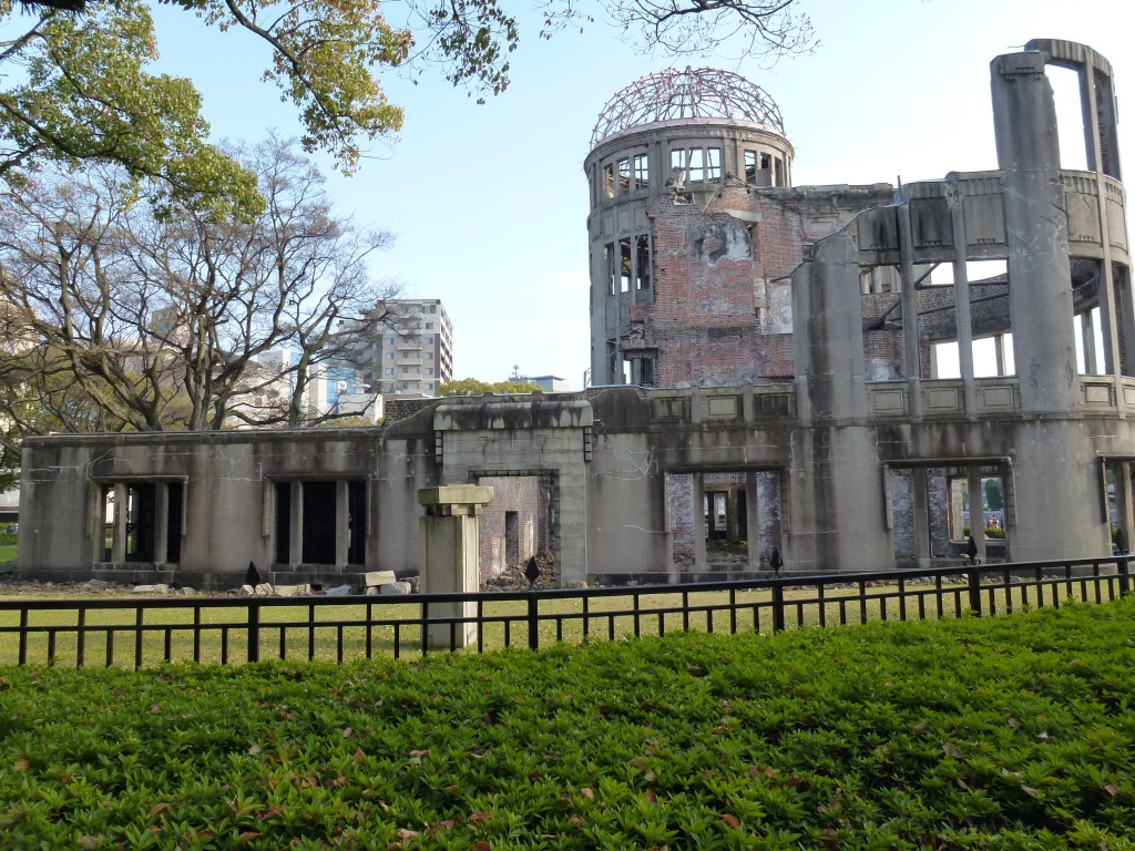 広島・原爆ドーム・1