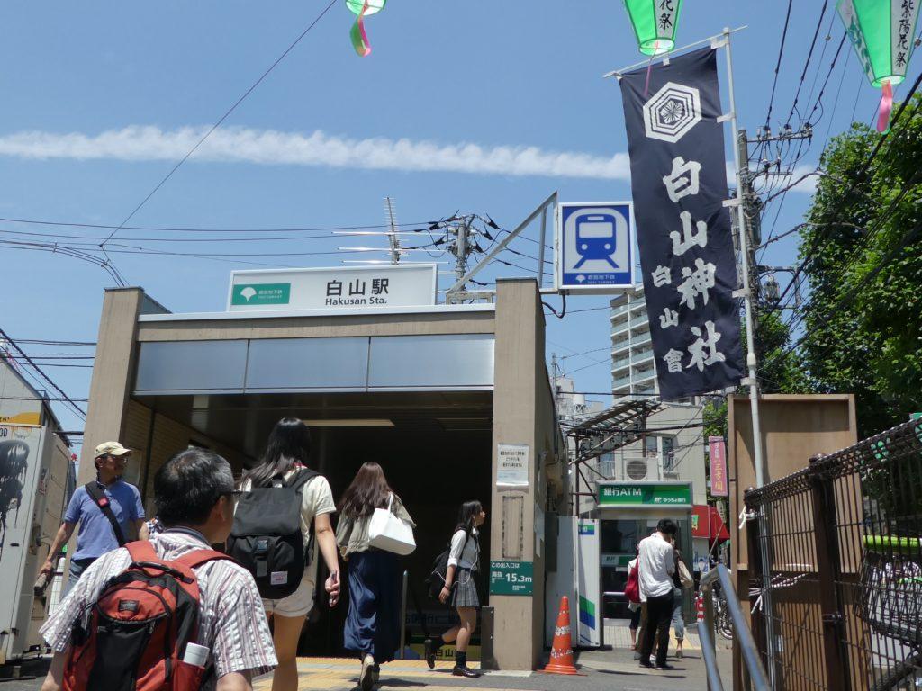 東京「白山神社」あじさい祭り2016 (4)