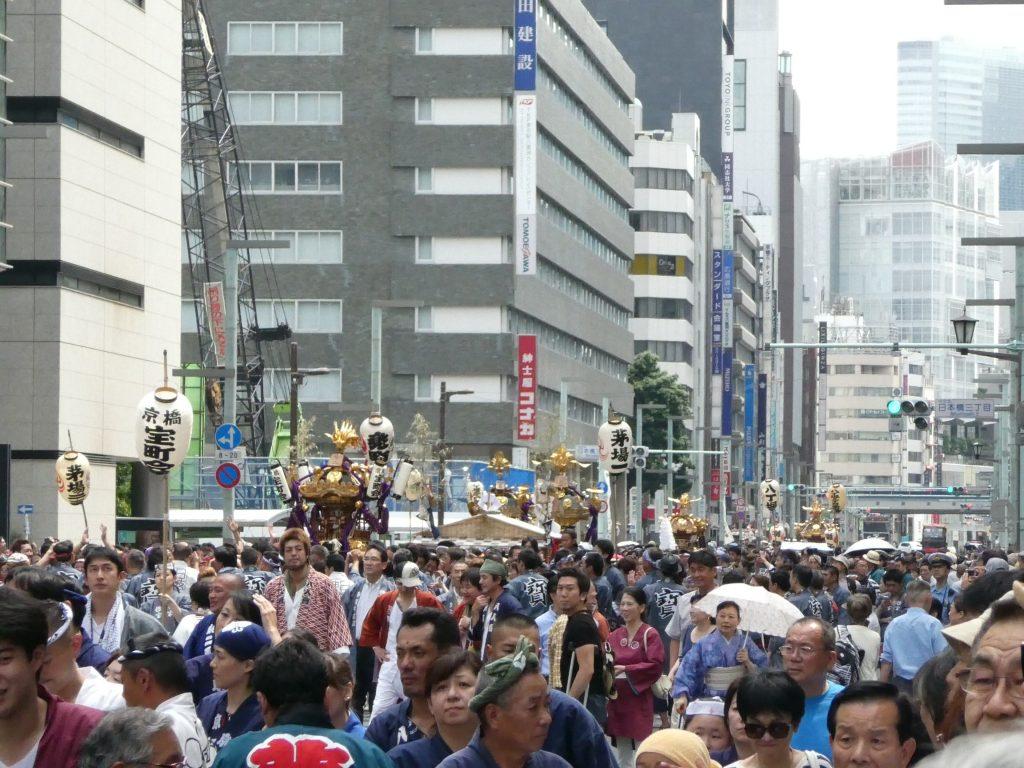 日枝神社・山王祭・下町連合渡御 (2)