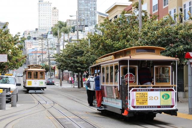 『サンフランシスコ』の公共交通機関を乗りこなすテクニック