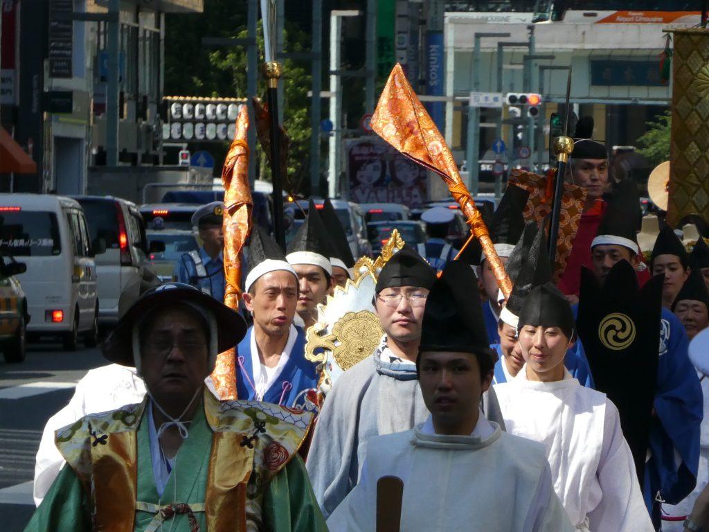 「日枝神社」山王祭『祭礼行列・神幸祭』 (4)