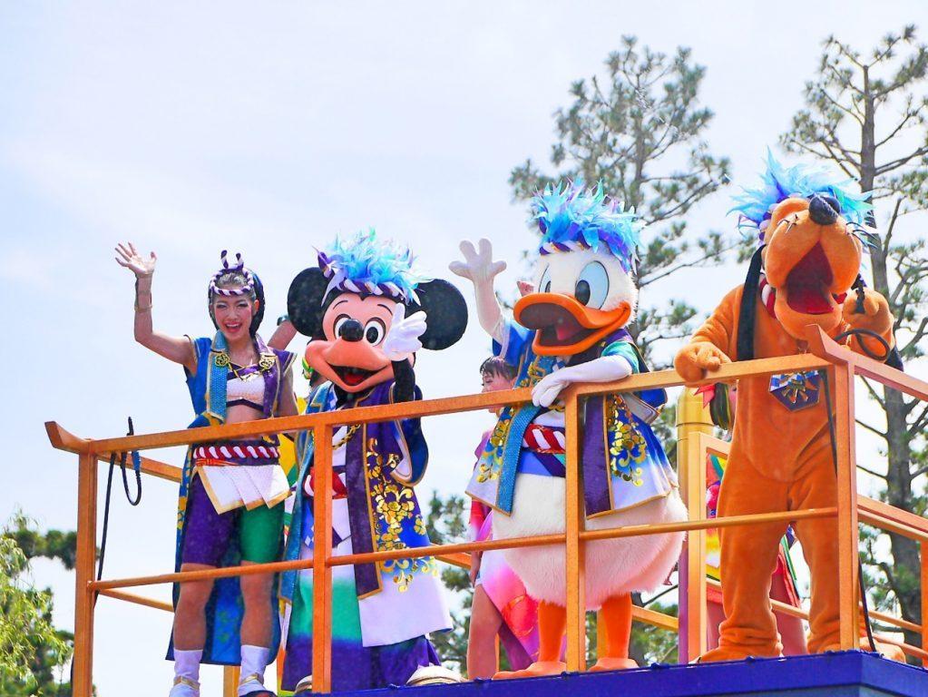 ディズニー夏祭り!2016年の『彩涼華舞』と2015年の『爽涼鼓舞』
