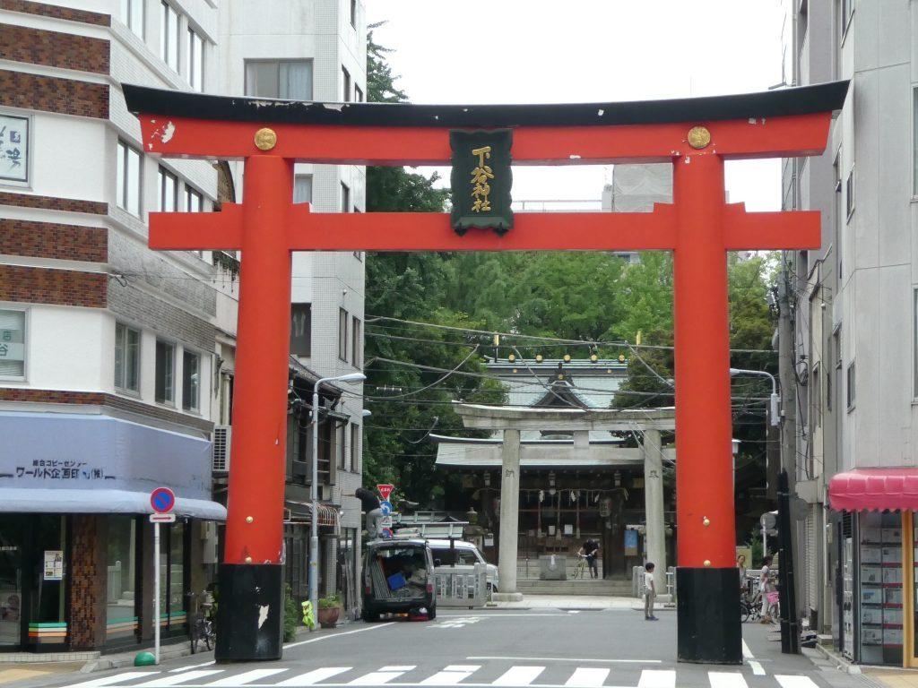 東京台東区東上野の『下谷神社』にお参りしてきました。