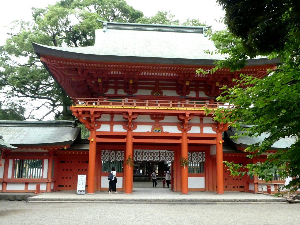 埼玉県さいたま市大宮区の『武蔵一宮氷川神社』で御朱印をいただきました。