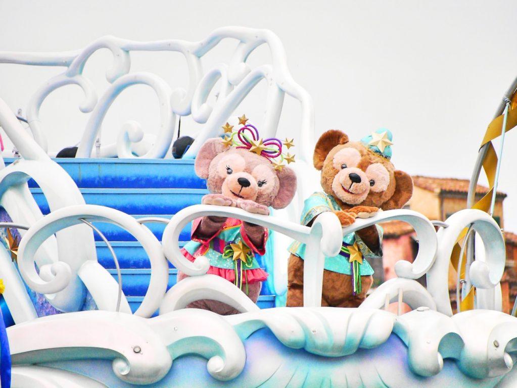 ディズニー七夕デイズで浴衣ディズニーinシー (1)