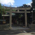 東京都台東区東上野の『下谷神社』にて7月8月朔日限定の御朱印をいただきました。