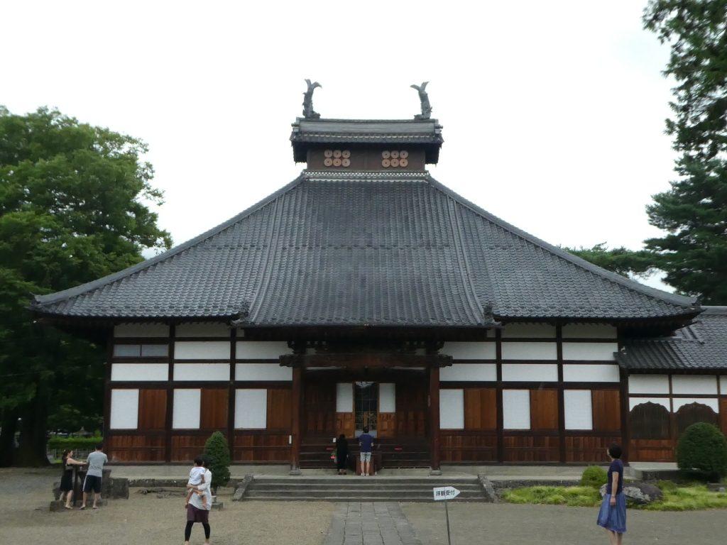 長野・松代の『長国寺』にお参りしてきました。 (1)