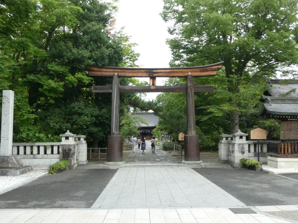 長野県長野市松代町の佐久間象山を祀る『象山神社』で御朱印をいただきました。