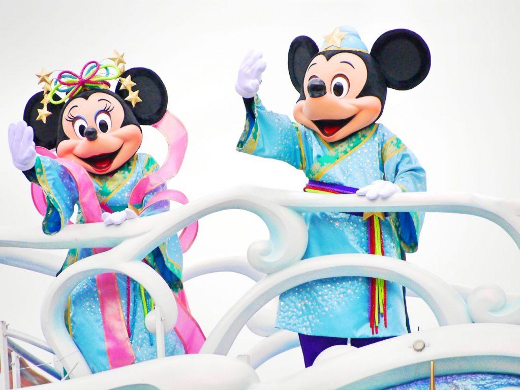 ディズニー七夕デイズで浴衣ディズニーinシー (12)