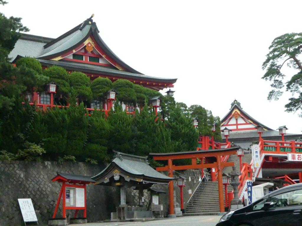 島根県鹿足郡津和野町の『太鼓谷稲成神社』で御朱印をいただきました。