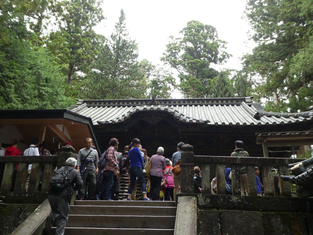 栃木県日光市の「日光東照宮」の『奥宮』で御朱印をいただきました。