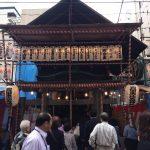 東京都中央区日本橋の『宝田恵比寿神社』の「恵比須講べったら市」で御朱印をいただきました。