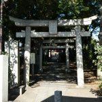 東京都目黒区自由が丘の『自由が丘熊野神社』で御朱印をいただきました。