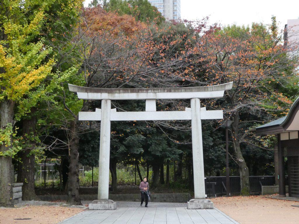 東京都新宿区西新宿の『十二社熊野神社』で「酉の市・二の酉」の御朱印をいただきました。