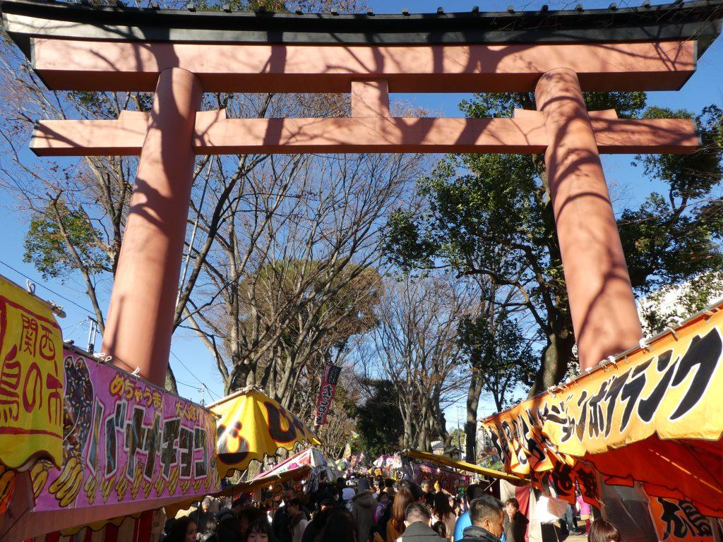 埼玉県さいたま市大宮区の『武蔵一宮氷川神社』の「大湯祭(十日市)」で御朱印をいただきました。