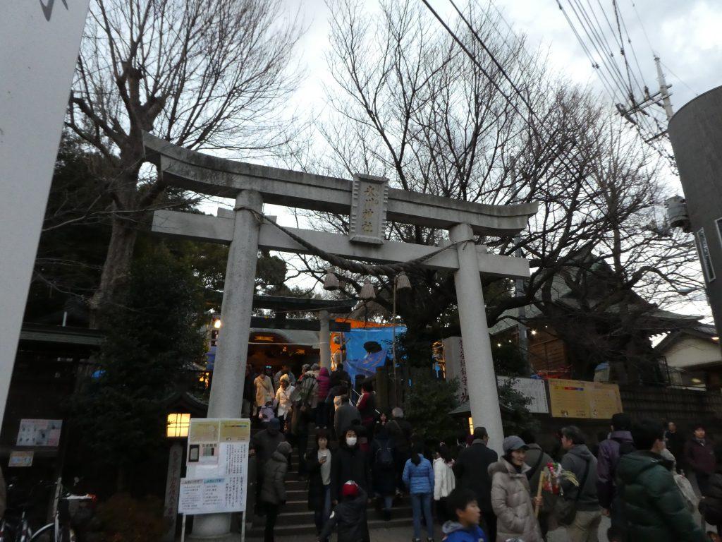 埼玉県川口市鳩ヶ谷の『鳩ヶ谷総鎮守氷川神社』で「おかめ市」の御朱印をいただきました。