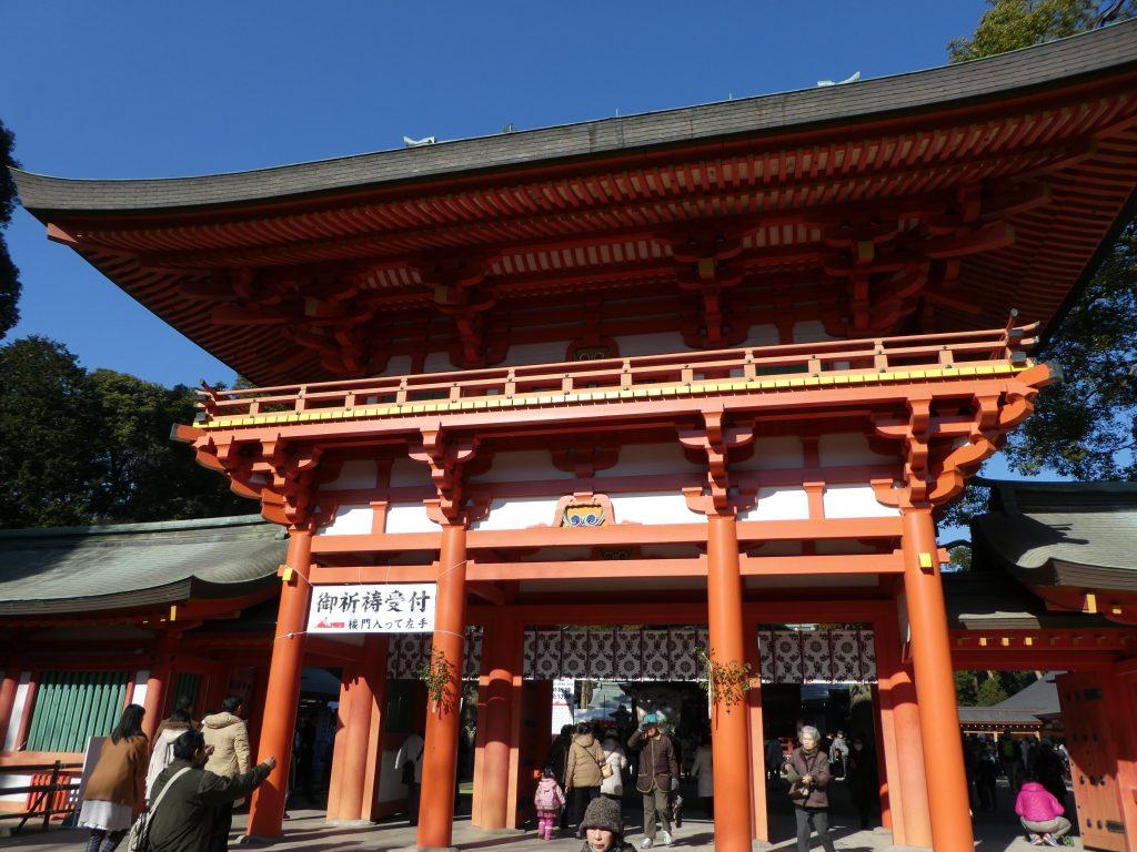 埼玉県さいたま市大宮区の『武蔵一宮氷川神社』に2017年新年のお参りをしてきました。