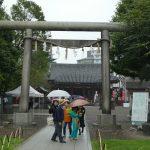 東京都台東区浅草の『浅草神社』で2016年「東武鉄道・御朱印ラリー」限定の御朱印をいただきました。