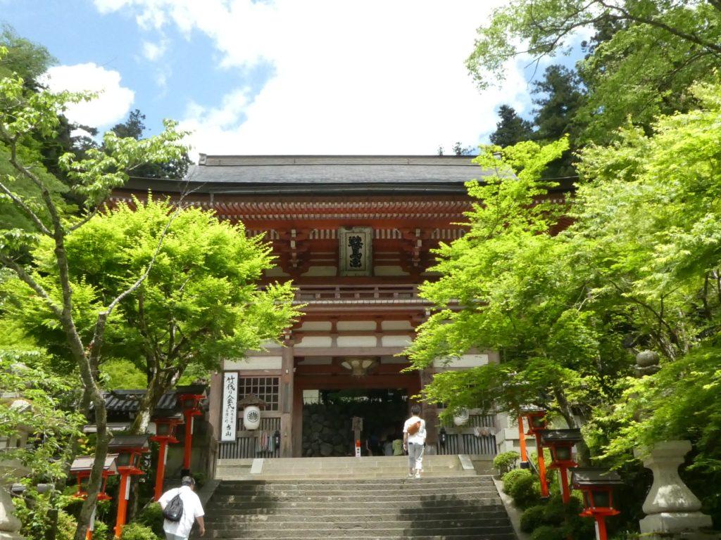 京都府京都市左京区鞍馬本町の『鞍馬寺』で御朱印と御詠歌をいただきました。