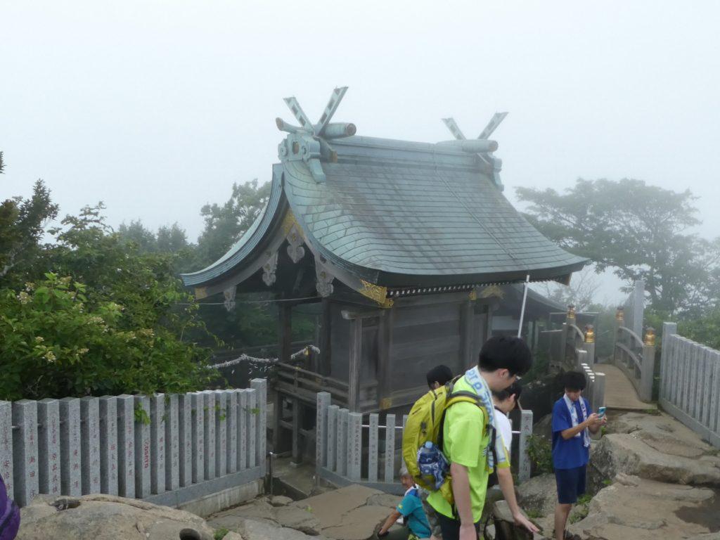 茨城県つくば市の「筑波山・女体山頂」の『女体山御本殿』で御朱印をいただきました。