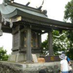茨城県つくば市の「筑波山・男体山頂」の『男体山御本殿』で御朱印をいただきました。