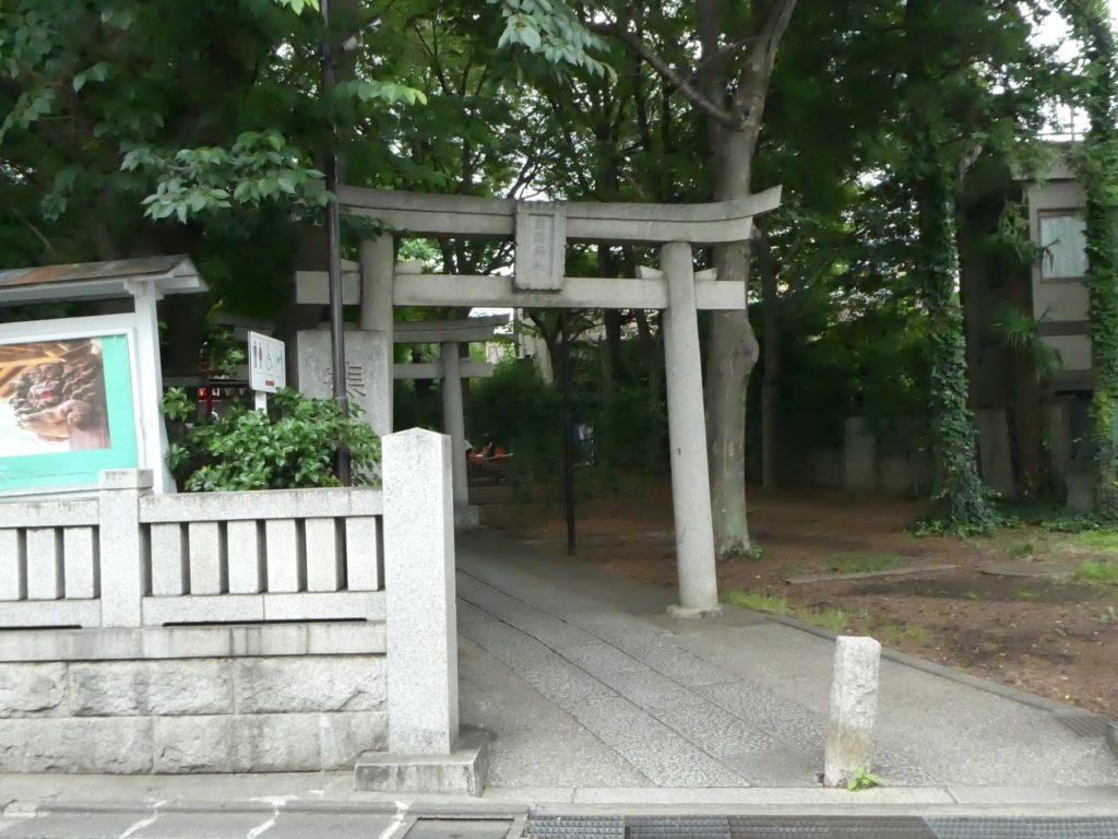 東京都目黒区自由が丘の『自由が丘熊野神社』で6月限定御朱印をいただきました。