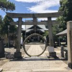 東京都大田区大森北の『磐井神社』で6月限定の御朱印をいただきました。