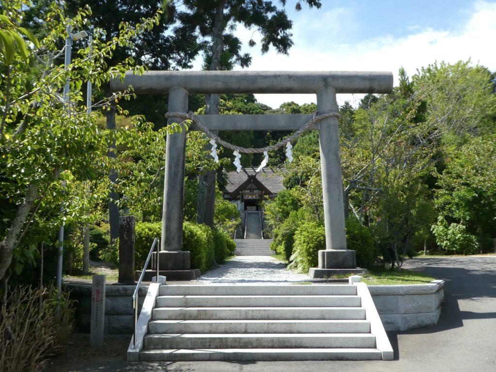 千葉県南房総市千倉町南朝夷の『高家神社』で御朱印をいただきました。