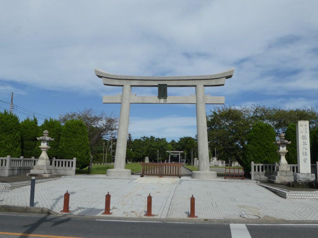 千葉県館山市八幡の『鶴谷八幡宮』で御朱印をいただきました。