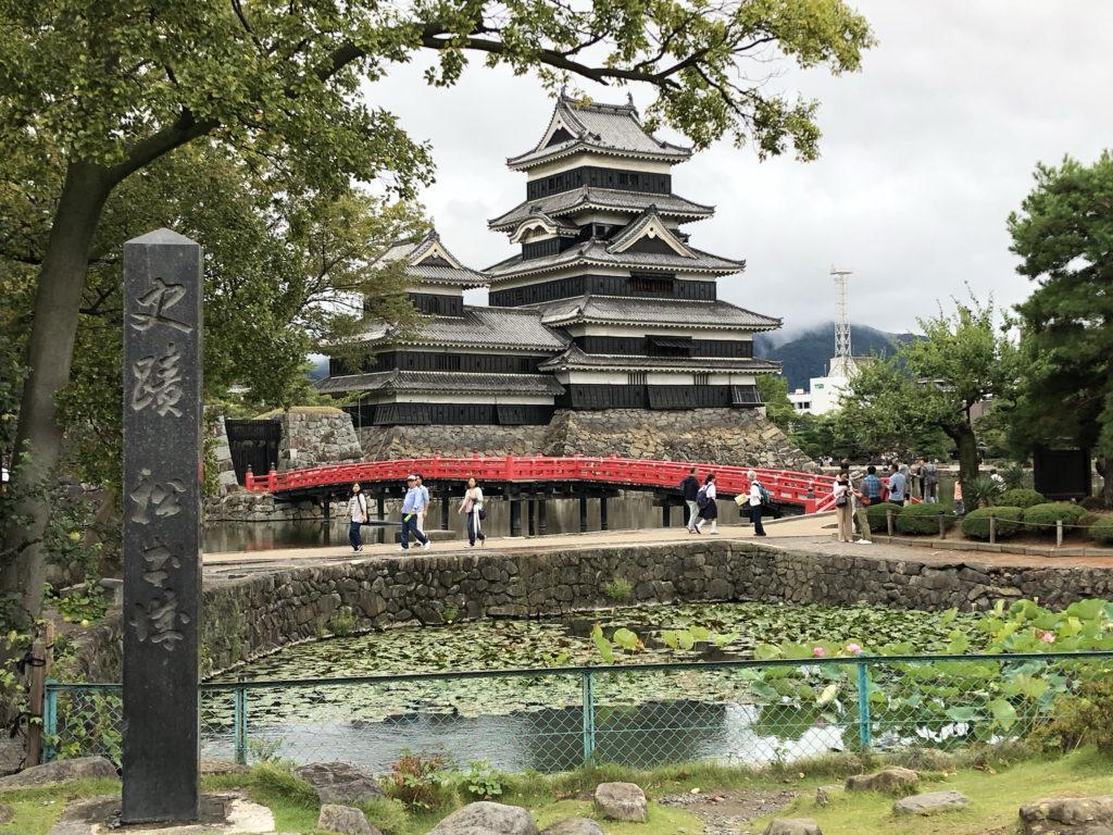 長野県松本市丸の内にある日本100名城の『松本城』で御朱印とスタンプをいただきました。