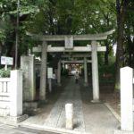 東京都目黒区自由が丘の『自由が丘熊野神社』で9月限定御朱印をいただきました。
