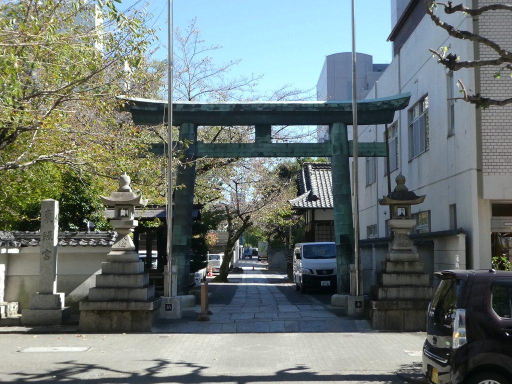 愛知県名古屋市中区丸の内の『名古屋東照宮』で御朱印をいただきました。