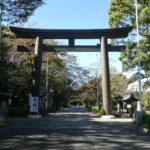 愛知県名古屋市中区三の丸の『愛知縣護国神社』で御朱印をいただきました。