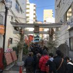 東京都大田区大森北の『大森鷲神社』で「酉の市・三の酉」の御朱印をいただきました。